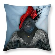 In Disguise Throw Pillow