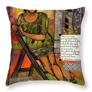 In Every True Woman Throw Pillow