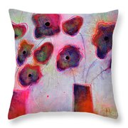 In Full Bloom 2 Throw Pillow