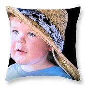 In Grandpa's Hat Throw Pillow