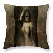 In Her Arms We All Drown Throw Pillow