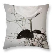 In Her Time Throw Pillow