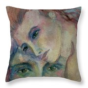 In His Eyes... Throw Pillow