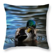 In His Own Moment Throw Pillow