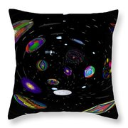 In My Telescope Throw Pillow