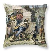 In Old Virginny, 1876 Throw Pillow