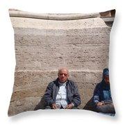 In Prayer Throw Pillow
