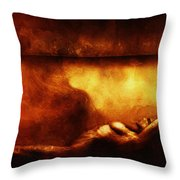 In Quiet Place  Throw Pillow