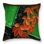 In The Alley Throw Pillow
