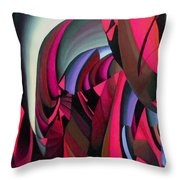 In The Beginning 7th  Throw Pillow