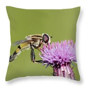In The Bloom Throw Pillow