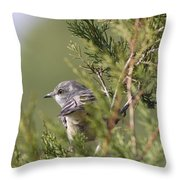 In The Bushes Throw Pillow