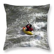 In The Channel Throw Pillow