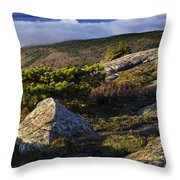 In The Clouds At Cadillac Throw Pillow