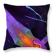 In The Colors Shadow Throw Pillow