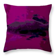in the Depths Throw Pillow