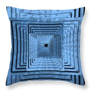 In The Eye Of The Storm 6 Throw Pillow