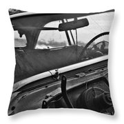 In The Hood Throw Pillow