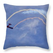 In The Loop Throw Pillow