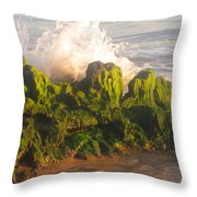 In The Magic Light Throw Pillow