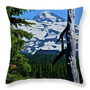 In The Middle Yet Again Throw Pillow