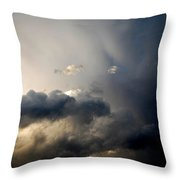 In The Midst Of The Clouds Throw Pillow
