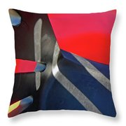 In The Playground Throw Pillow
