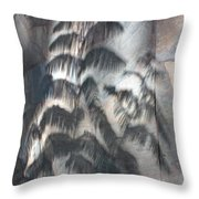 In The Shadow Of The Day Throw Pillow
