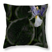 In The Silence Throw Pillow