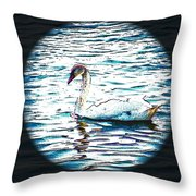 In The Spotlight Throw Pillow