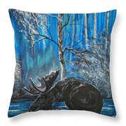 In The Still Of The Night Series 1 Throw Pillow