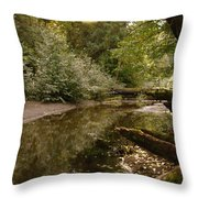 In The Stillness Of Paradise Throw Pillow