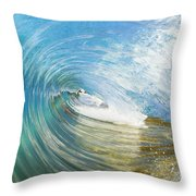 In The Tunnel Throw Pillow