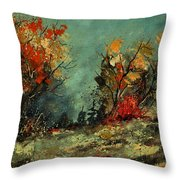 In The Wood 452101 Throw Pillow