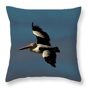 In To The Blue 4 Throw Pillow