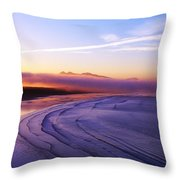Inch Beach, Dingle Peninsula, Co Kerry Throw Pillow
