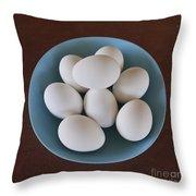 Incipient Egg Salad Throw Pillow