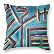 Increase - I Ching Throw Pillow