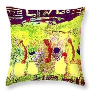 Indefatigable  Throw Pillow