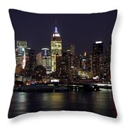 Independence Day  Throw Pillow by Living Color Photography Lorraine Lynch