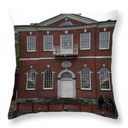 Independence Hall Philadelphia I Throw Pillow