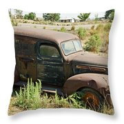 Independent Dairy Delivery Throw Pillow