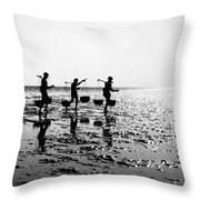 India: Orissa, 1957 Throw Pillow