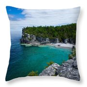 Indian Head Cove Throw Pillow