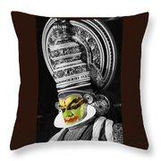 Indian Kathakali Dance Of Kerela 3 Throw Pillow