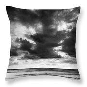 Indian Ocean 2 Throw Pillow