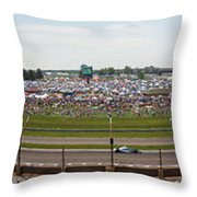 Indianapolis Race Track Throw Pillow