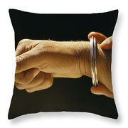 Indias Sikhs Are Recognized By A Steel Throw Pillow