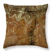 Indigenous Art Australia 2 Throw Pillow