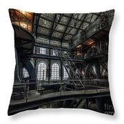Wheels Of Industry Throw Pillow